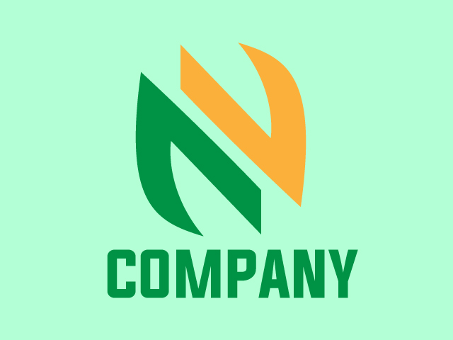 Letter N Creative Modern Logo