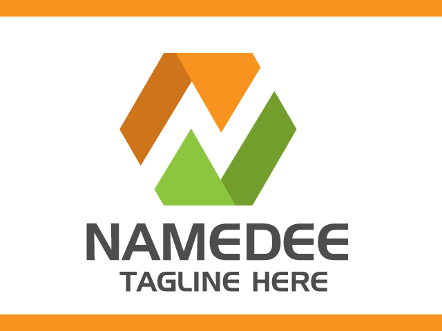 Letter In Modern Logo Design Template