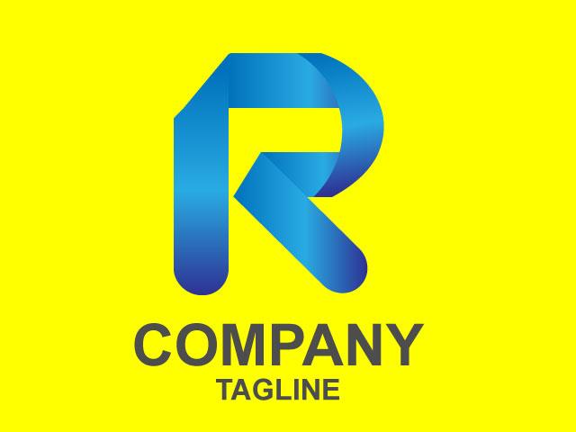Minimal Letter R Technology Business Logo Design Ideas