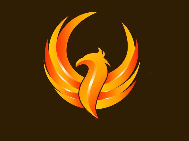 Powerful Phoenix Logo Design