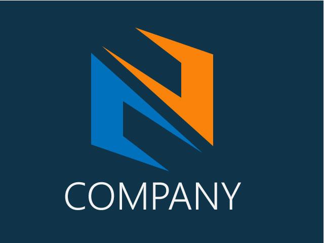 Free Logo Design For Letter N Vector