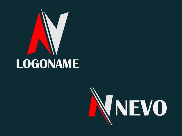 Minimal Letter N Free Vector Logo Design
