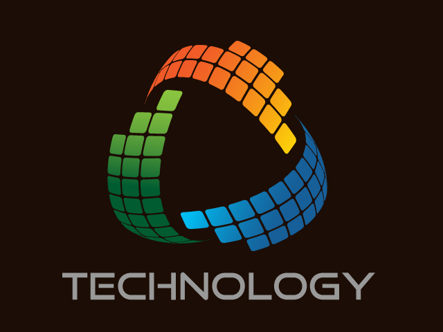 Technology Vector Logo Design