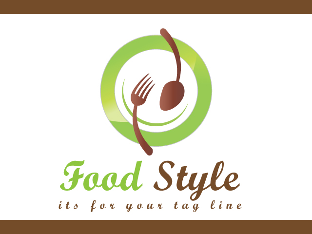 Food Company Vector Logo Design