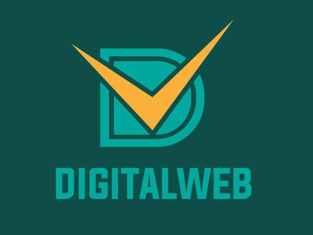 Letter D Digital Service Provider Logo Design