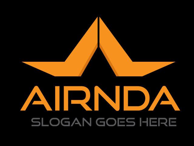 Letter Base Corporate Minimal Logo Design