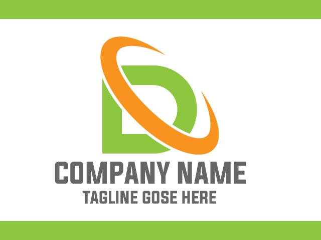 Company Logo Design For Letter D Vector