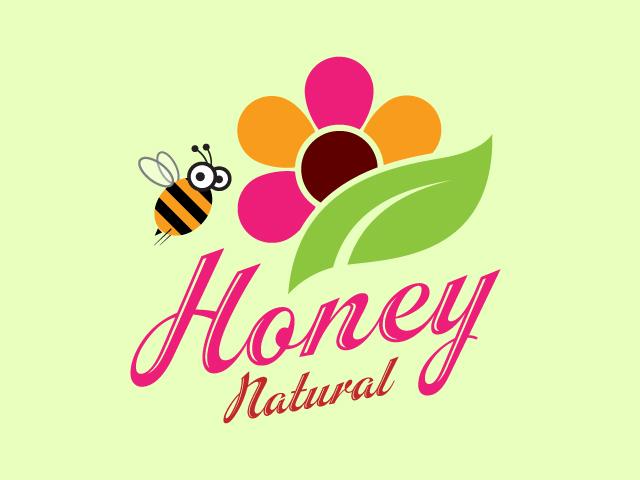 Creative Honey Logo  Design Vector