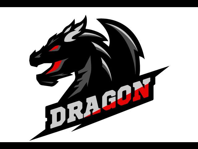 Dragon Logo Design Idea Vector