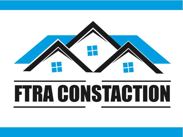 Fittra Construction Logo Design Vector