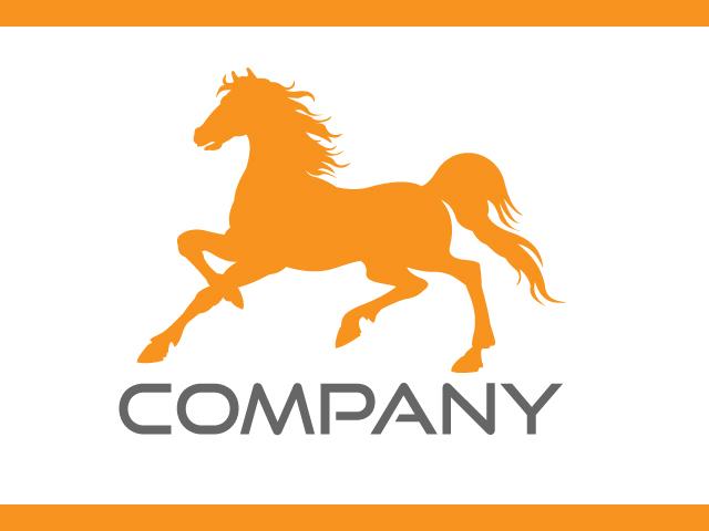 Horse Logo Design Free Vector
