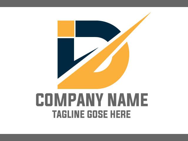 Letter D Company Logo Design Vector