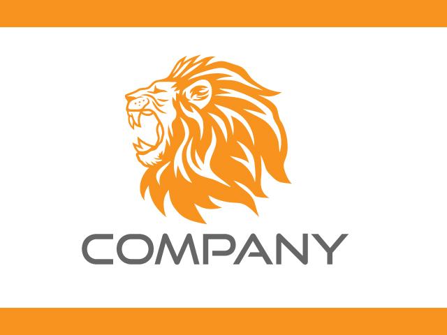 Lion Logo Design Idea Vector