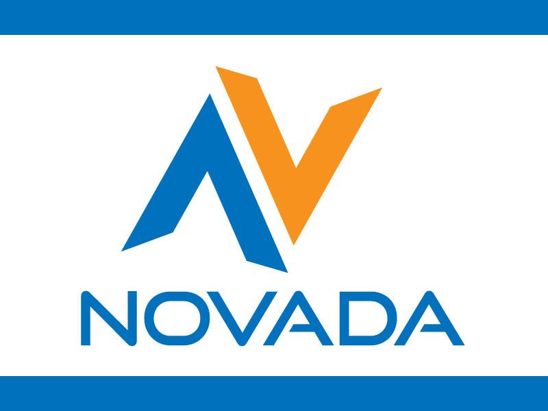 Minimal Logo Design For Letter N Vector