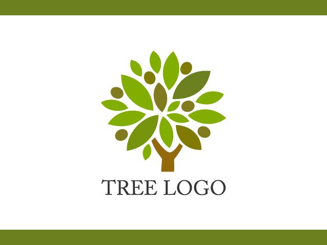 Nature Tree business logo design