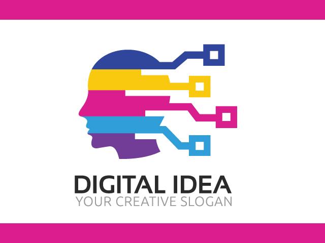 Brain Analyse Logo Design Idea