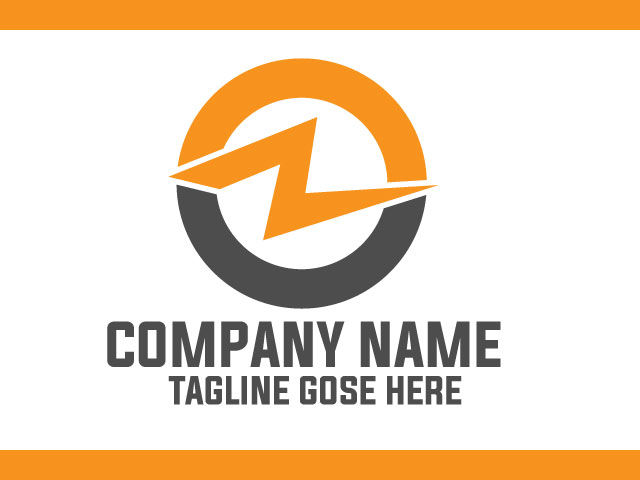 Financial Management Company Logo Design Vector