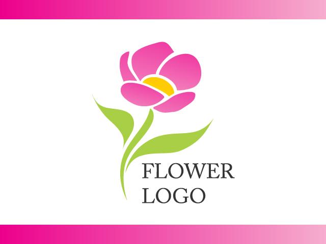 Flower Business Logo Design Vector