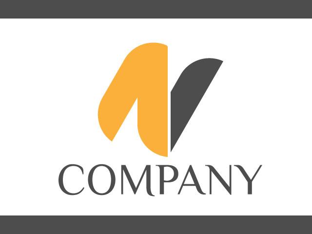 Letter N Modern Logo Design For Business