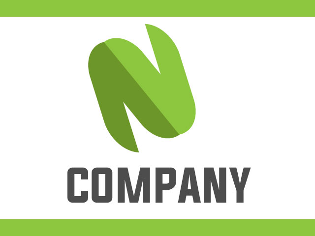 Letter N Modern Logo Design For Technology