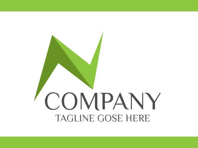 Modern Company Logo Design For Letter In Vector