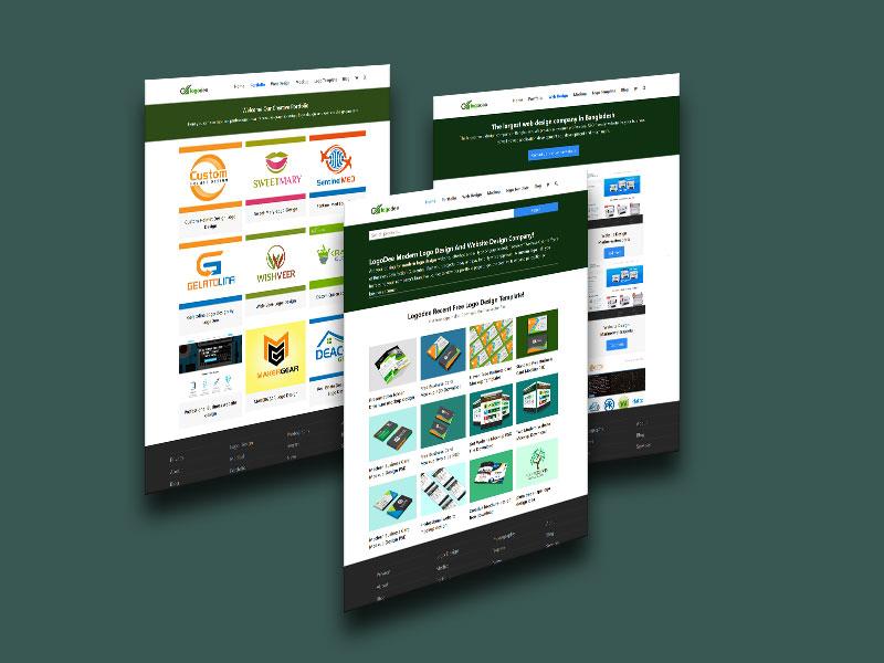 Amazing Free Website Mockup PSD Templates