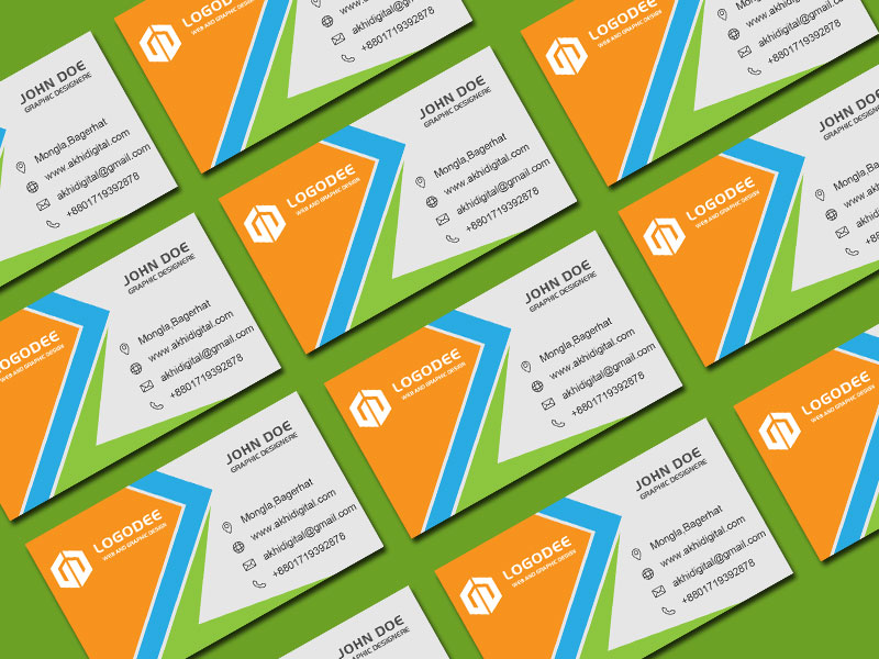Eleven Free Business Card Mockup Templates