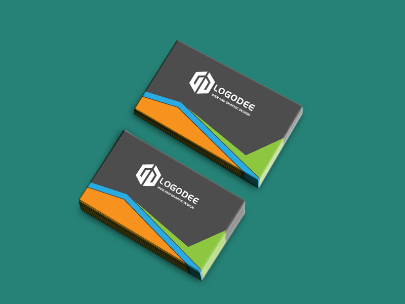 Free Business Card Mockup Two Side PSD