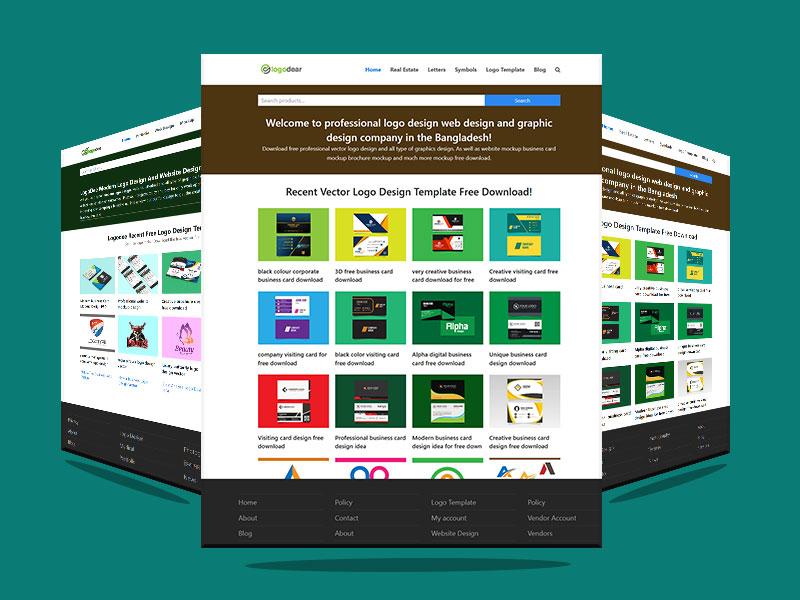 Get Website Mockup PSD File Download