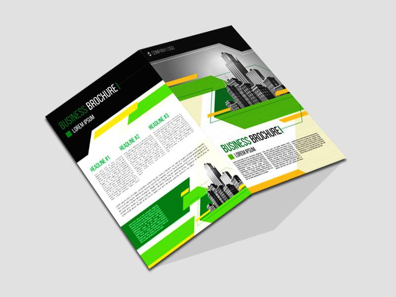 Presentation Folder Brochure Mockup Design