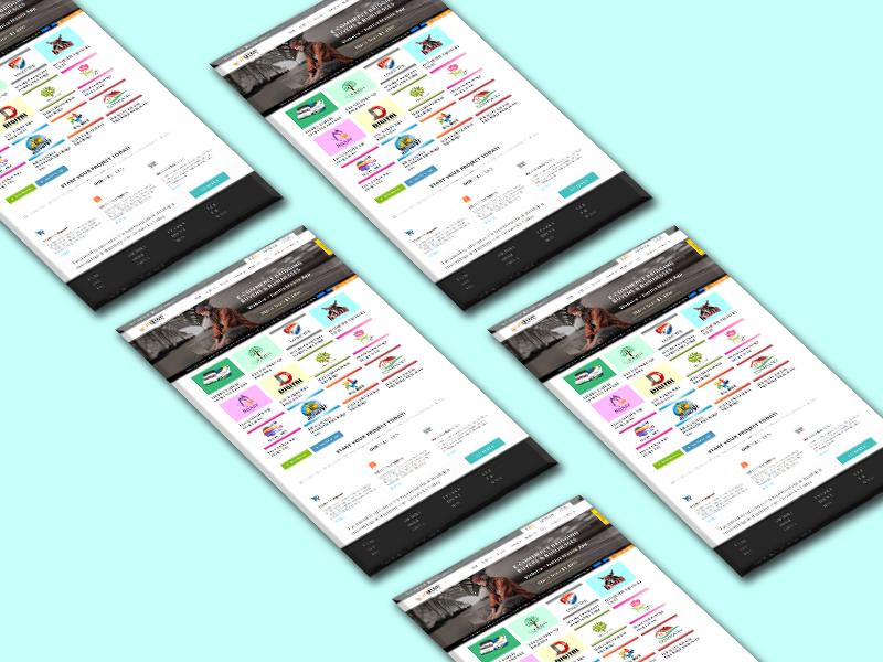 Professional Website Mockup Design