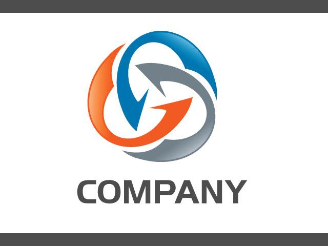 New Corporate Business Financial Logo Design Idea
