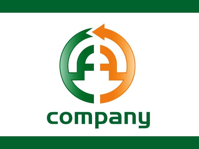 Letter A Corporate Business Logo Design