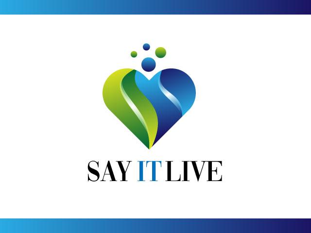Say It Love Company Logo Design Idea