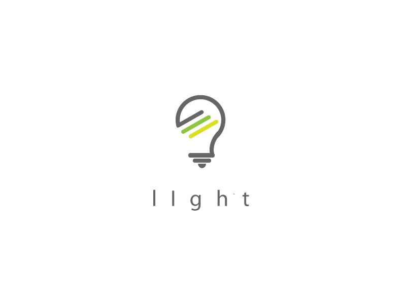 Light Logo Design Free Download Vector