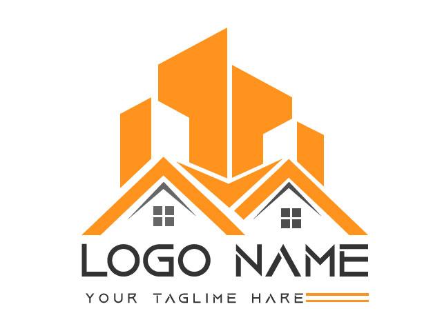 Real Estate Logo Design Free Download Vector