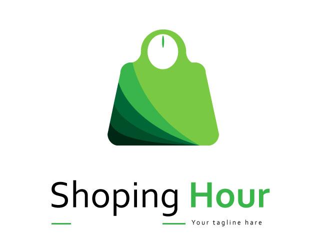 Shopping Logo Design Free Download Vector