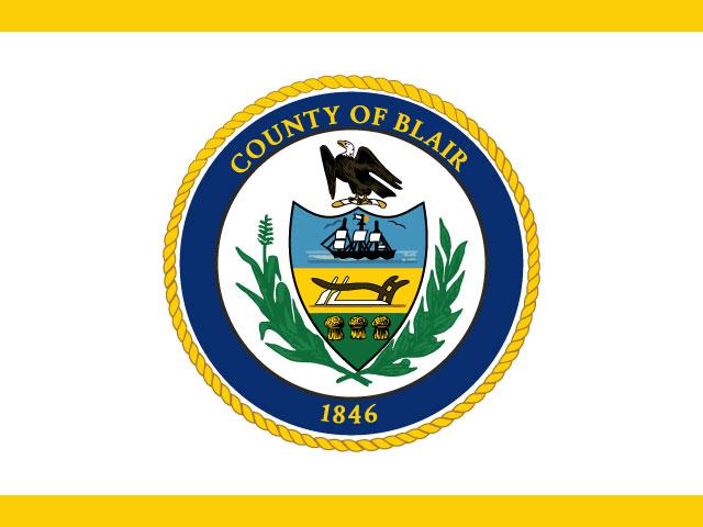 Blair County Pennsylvania Vector Logo Design