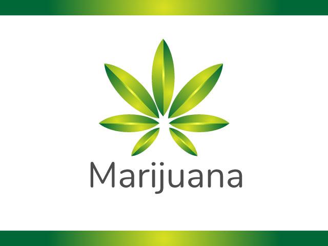 Marijuana Logo Design Vector Free Download