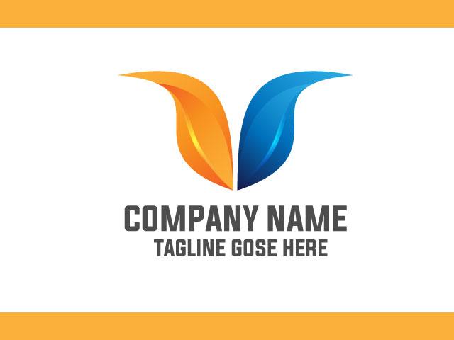 Now Letter V Logo Design Idea Vector