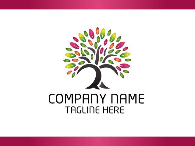 Tree Logo Design Vector Free Download