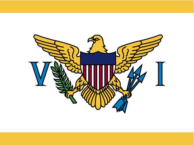 Vector Logo Design For Flag Of Virgin Islands