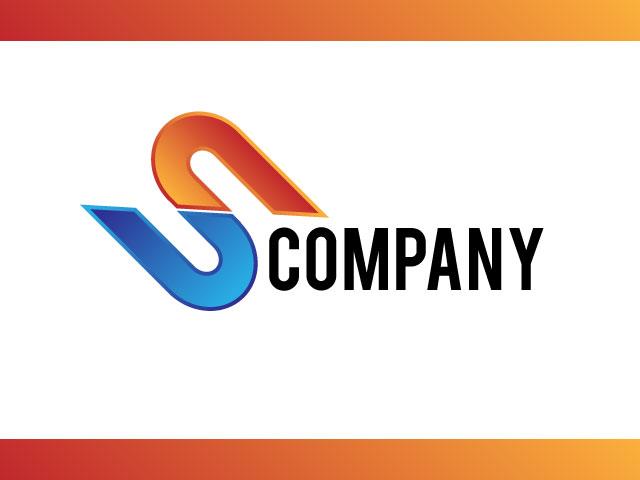 Letter S 3D Logo Design Idea